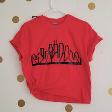 Load image into Gallery viewer, Skyline Tee (Red) [crop OR full length]