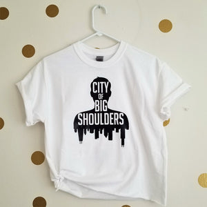 City of Big Shoulders Tee [crop OR full length] - Hof Draws