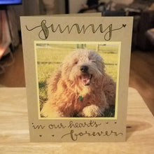 Load image into Gallery viewer, Custom Pet Sympathy Card