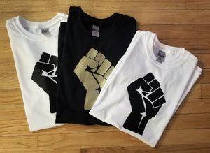 Black Lives Matter/Resist Fist Tee [crop OR full length]
