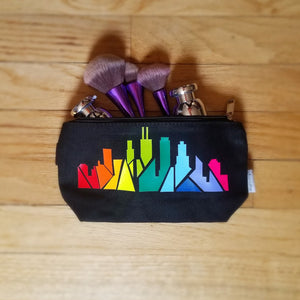 Rainbow Chicago Skyline Purse