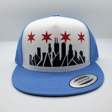 Load image into Gallery viewer, Chicago Skyline Snapback Hat