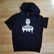 Load image into Gallery viewer, City of Big Shoulders Hooded Tee
