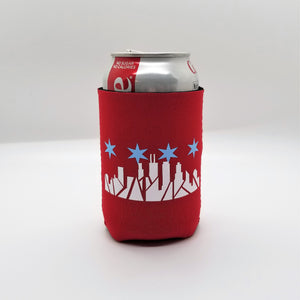 Chicago Skyline Can Cooler