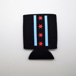 Chicago Flag Can Cooler