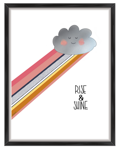 Rise & Shine Wall Art Print
