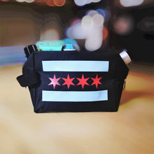 Load image into Gallery viewer, Chicago Flag Shaving/Miscellaenous Bag