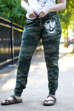 Load image into Gallery viewer, Crystal Skull Camo Sweatpants