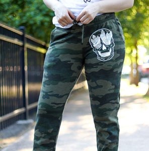 Crystal Skull Camo Sweatpants