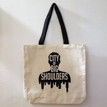 Load image into Gallery viewer, City of Big Shoulders Tote - Hof Draws