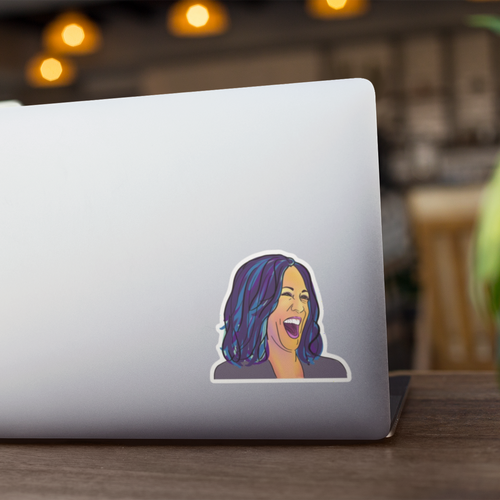 Kamala Harris Pop Art Sticker