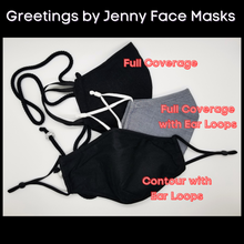 "Load image into Gallery viewer, ""I have a nose ring"" Sarcastic Face Mask - Different Styles & Colors Available!"