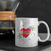 Load image into Gallery viewer, Mom Tattoo Coffee Mug