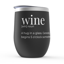 "Load image into Gallery viewer, ""Will you shut up, man?"" Stemless Wine Tumbler"
