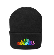 Load image into Gallery viewer, Rainbow Chicago Skyline Beanie