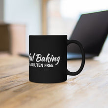 Load image into Gallery viewer, Mindful Baking Mug (Black/White)