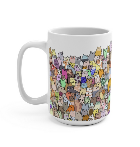 All Cats Coffee Mug