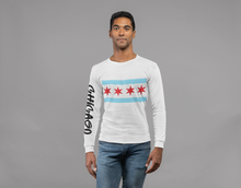 Load image into Gallery viewer, Chicago Flag Crewneck - Graffiti
