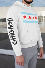 Load image into Gallery viewer, Chicago Flag Hoodie - Graffiti