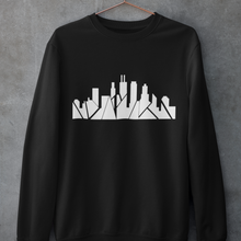 Load image into Gallery viewer, Chicago Skyline Crewneck with Inverted Skyline