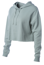 Load image into Gallery viewer, Women's Sage Crop Sweatsuit