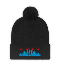 Load image into Gallery viewer, Chicago Skyline Beanie