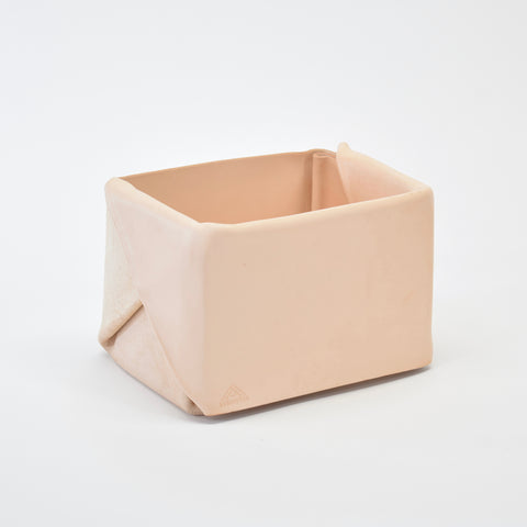 Läderlåda Folded Leather Catchall