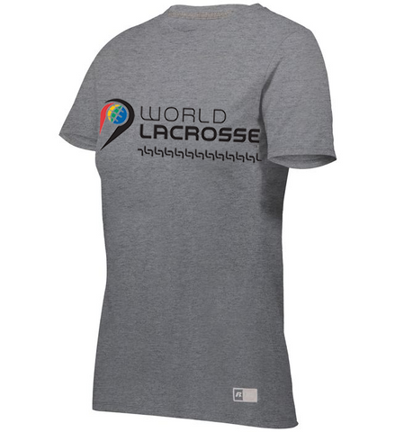 World Lacrosse Graphic Ladies Tshirt