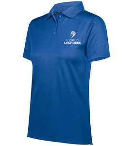 World Lacrosse Ladies Polo Shirt