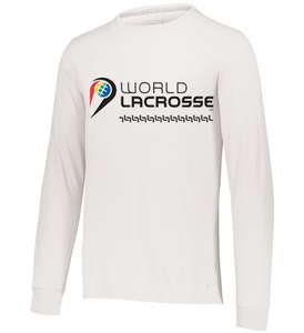 World Lacrosse Long Sleeve Graphic Tshirt