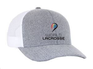 World Lacrosse Trucker Snapback Cap