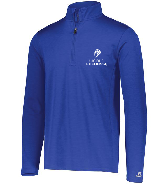 World Lacrosse 1/4 Zip Pullover