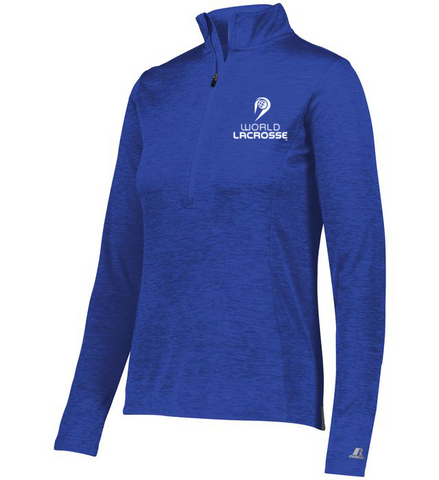 World Lacrosse Ladies 1/4 Zip Pullover
