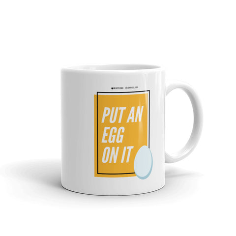 Put An Egg On It Pop Art Mug