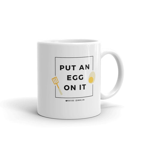 Put An Egg On It Frame Mug