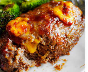 Smokehouse Cheddar Meatloaf