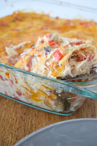Chicken King Ranch Casserole