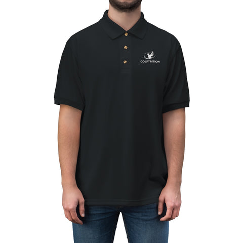 Golftrition Men's Jersey Polo Shirt - Golftrition