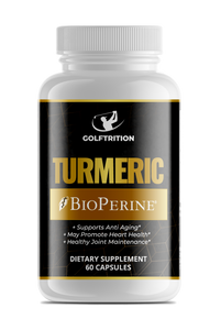 Turmeric W/ BioPerine®, Supplement, Golftrition