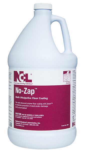 No-Zap Static Dissipative Floor Coating - (1 GAL)