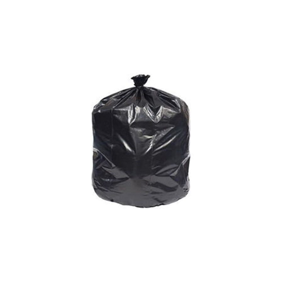 38 x 58 - 1.10 MIL - Black Can Liner - 60 GAL - (100/CS)