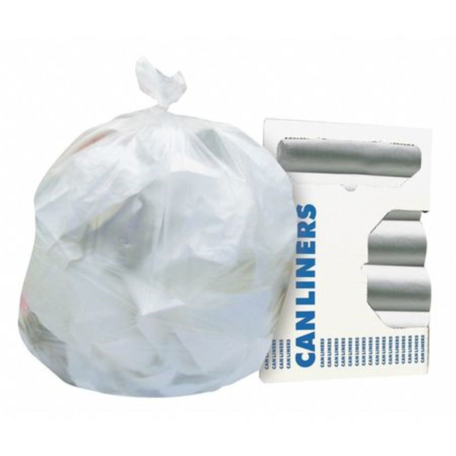 24 x 33 - 8 MIC - Clear Can Liner - (1000/CS)