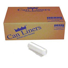 Load image into Gallery viewer, 52 x 75 - 2 MIL - Clear Can Liner - 96 GAL - (50/CS)