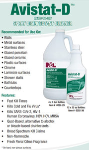 AVISTAT-D™ Ready To Use Disinfectant Cleaner - 1 Bottle - (32oz)