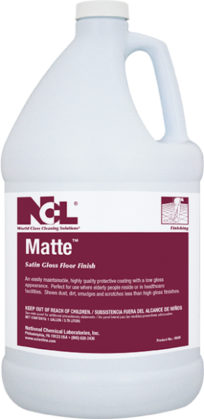 Matte Satin Gloss Floor Finish - (1 GAL)