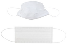 Load image into Gallery viewer, 3 Ply - Pleated Dust Masks (10 PACK) (Non-Medical)