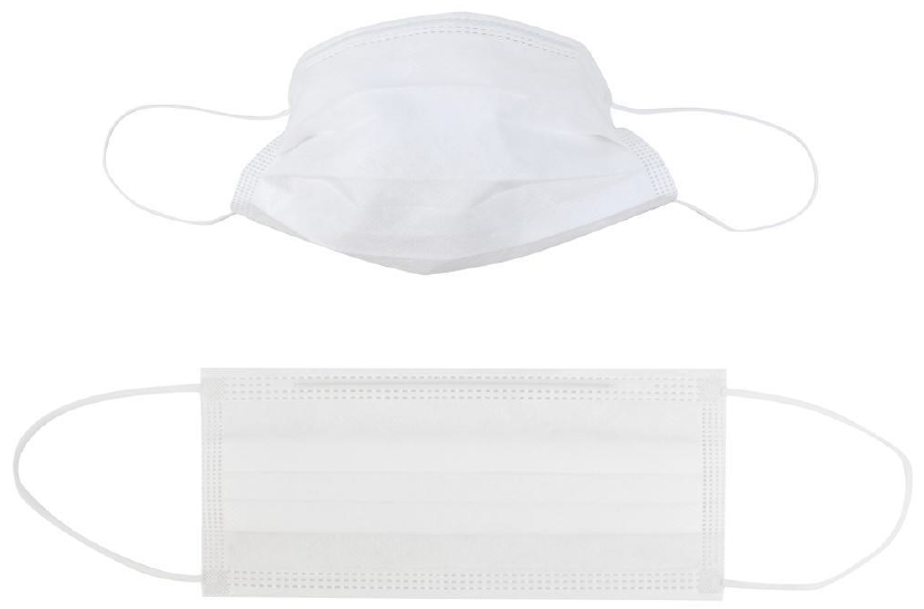 3 Ply - Pleated Dust Masks (10 PACK) (Non-Medical)