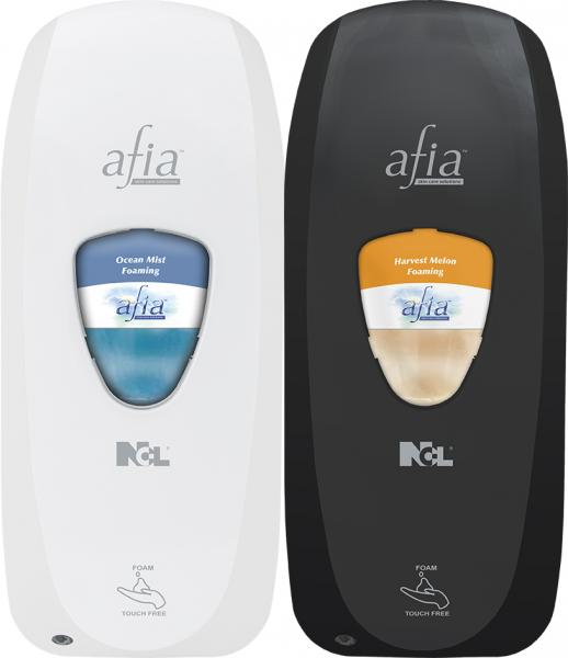 Afia Touch Free Foaming Dispenser - Sold As Needed With Purchase Of Afia Refills