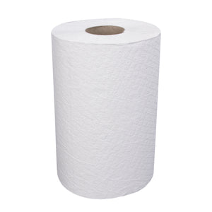 Right Choice White Hard-wound Roll Towel - 7.875 x 350' 1-PLY