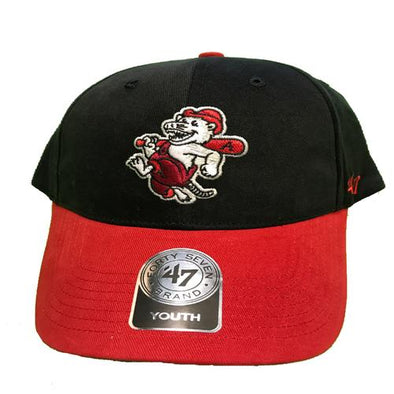 Arkansas Travelers Youth Short Stack Cap